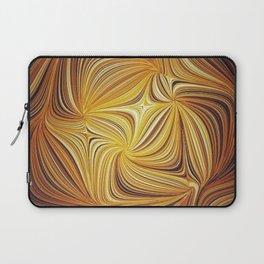 Electric Field Art L Laptop Sleeve