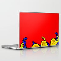 hell Laptop & iPad Skins featuring Hell by Alec Goss