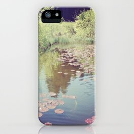 Lillypads iPhone Case