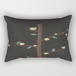 Yellow buds Rectangular Pillow