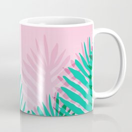 So Fine - palm springs desert plants indoor tropical oasis nature neon memphis throwback 1980s style Coffee Mug