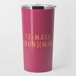 (Iron)(Man) Travel Mug
