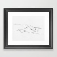 Untitled Hands No. 3 Framed Art Print