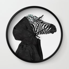 Inconspicuous Stripes Wall Clock