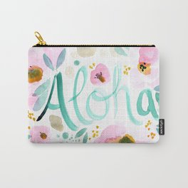 Aloha Floral Carry-All Pouch