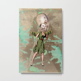 Sea fairy Metal Print