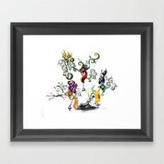 The Mister Framed Art Print