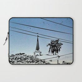 over smal trown the sunset Laptop Sleeve