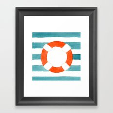 Starboard Social Framed Art Print