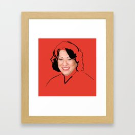 Supreme Court Justice Sonia Sotomayor Framed Art Print