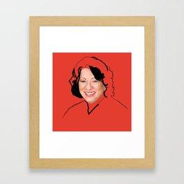 Supreme Court Justice Sonia Sotomayor Framed Art Print
