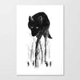 GOOD WOLF HUNTING Canvas Print