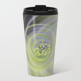Atom Flowers #13 Travel Mug