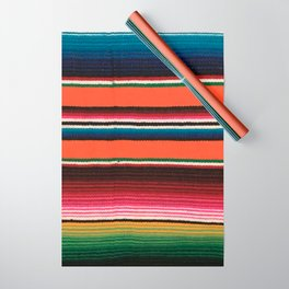 BEAUTIFUL MEXICAN SERAPE Wrapping Paper