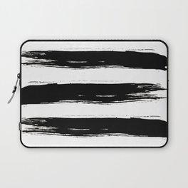 Bold Ink Brushstrokes Laptop Sleeve
