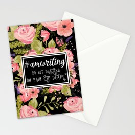 #AmWriting Stationery Cards