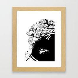 ALL BLACKS RENGAR Framed Art Print