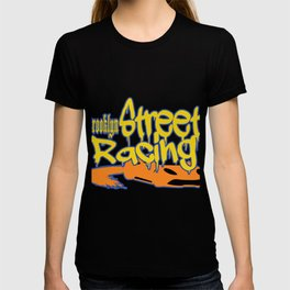 "This ""Brooklyn Street Racing"" vandal style is perfect for exotic and extraordinary person like you!  T-shirt"