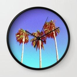 West Coast Vibin' Wall Clock