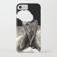 afro iPhone & iPod Cases featuring Afro by Ilustrismo