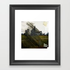 Tape&Scratch Framed Art Print