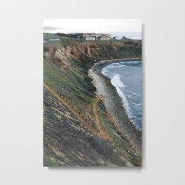 Pathway to the Ocean Metal Print