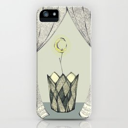 Inspired by Radiohead / Lotus flower iPhone Case