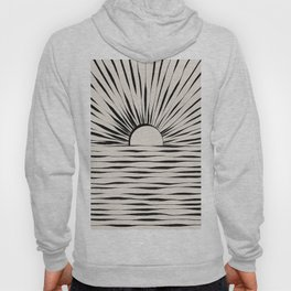 Minimal Sunrise / Sunset Hoody