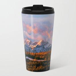 Sunrise in the Rockies Travel Mug