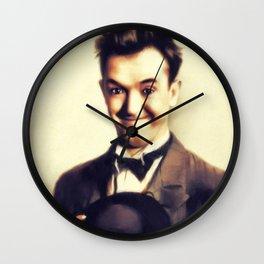 Stan Laurel, Hollywood Legend Wall Clock