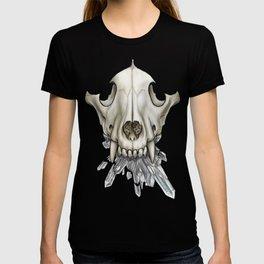 Wolf Skull Crystals T-shirt