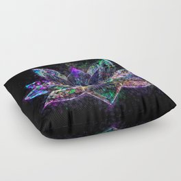 Lotus Flower Glow Floor Pillow