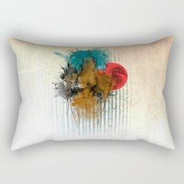 Trouble Rectangular Pillow