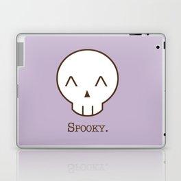 Spooky Skull Kawaii | Halloween Is Coming! Laptop & iPad Skin