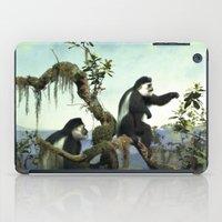 arctic monkeys iPad Cases featuring Monkeys by ZenaZero