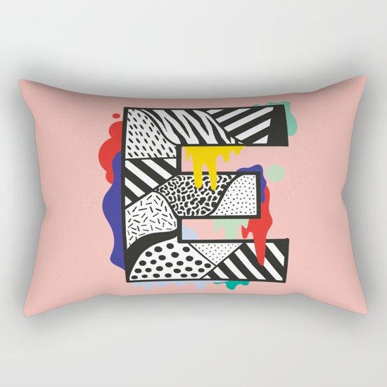E for …. Rectangular Pillow