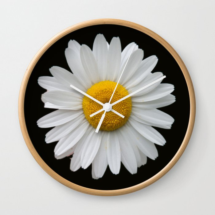 Plain And Simple Wall Clock By Catspaws Society6