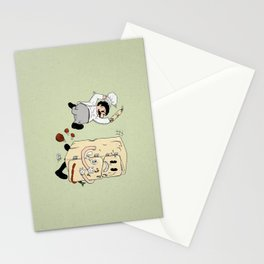 Your Fridge is Running Stationery Cards
