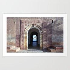 Marrakesh, Morocco Art Print