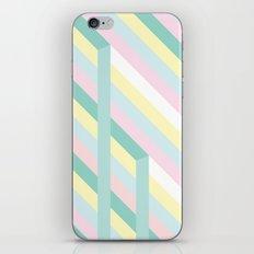 Ravel Pastel Stripes iPhone Skin