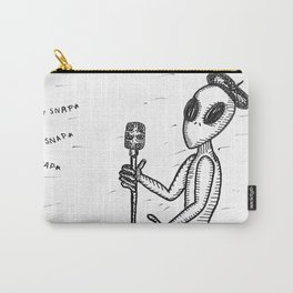 Smed The Alien At Poetry Night Carry-All Pouch