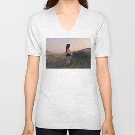 Mystery in the Mountains Unisex V-Neck