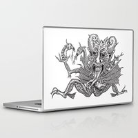 satan Laptop & iPad Skins featuring SaTaN by Kurz Daniel