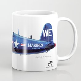 Vought F4U-4B Corsair Coffee Mug