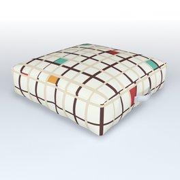 Grid pattern Outdoor Floor Cushion