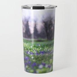 Late Winter Blooms Travel Mug