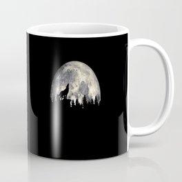 Wild Solitary Wolf Coffee Mug