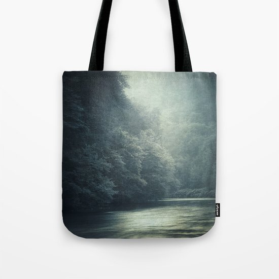 mystery river Tote Bag