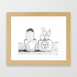 Luna y Sol Framed Art Print