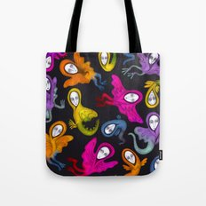 colorful hybrid witches Tote Bag